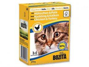 BOZITA  - Krůta Kuře kousky v omáčce Tetra Pak 370 g