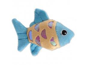 Hračka MAGIC CAT rybka plyšová s catnipem mix 10 cm