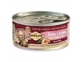 CARNILOVE Turkey & Salmon for Kittens 100g
