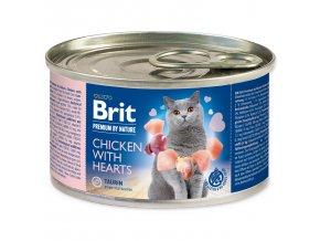 BRIT Premium by Nature Chicken with Hearts 200g