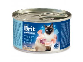 BRIT Premium by Nature  Trout with Liver 200g