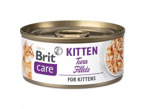 BRIT Care Konzerva Kitten Tuna Fillets 70g