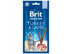 BRIT Premium by Nature Cat Sticks with Turkey & Lamb 3ks