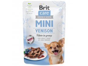 BRIT Care Mini Venison fillets in gravy 85g