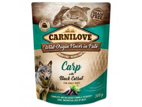 CARNILOVE Dog Paté Carp with Black Carrot 300g