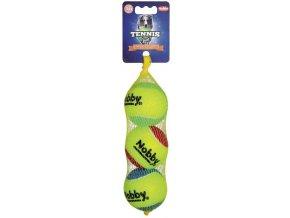 tenis míček 6,5 cm 3ks barevny nobby