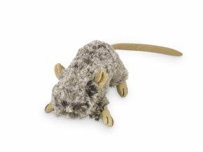 myš nobby catnip 10cm šedá