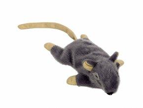 myš nobby catnip 14,5cm šedá