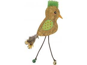hracka ptacek s catnipem