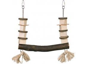 dřevěná houpačka pro papoušky nobby