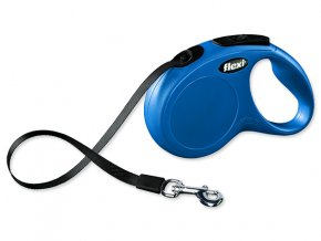 Vodítko FLEXI Classic New páska modré S 5 m 15 kg