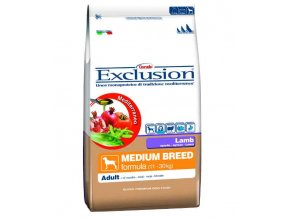 Exclusion Medium Adult Lamb 12,5 kg