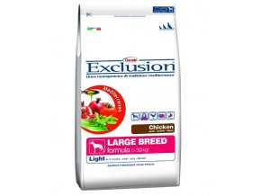 EXCLUSION Light Large Adult Chicken 12,5 KG