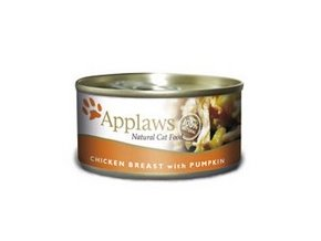 Applaws konzerva Cat kuřecí prsa a dýně