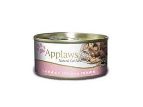 Applaws konzerva Cat tuňák a krevety
