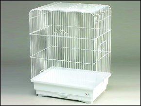 Klec BIRD JEWEL K2 bílá