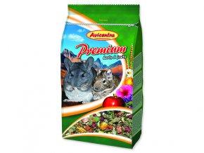 Krmivo AVICENTRA premium činčila + osmák 850 g