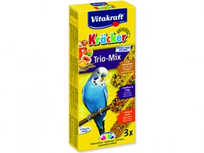 Kracker VITAKRAFT sittich honey + egg + fruit 3 ks