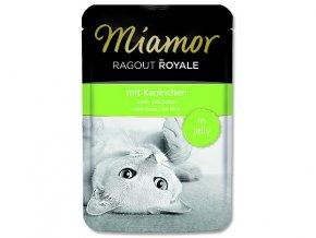MIAMOR Kapsička Ragout royale králík v želé 100 g