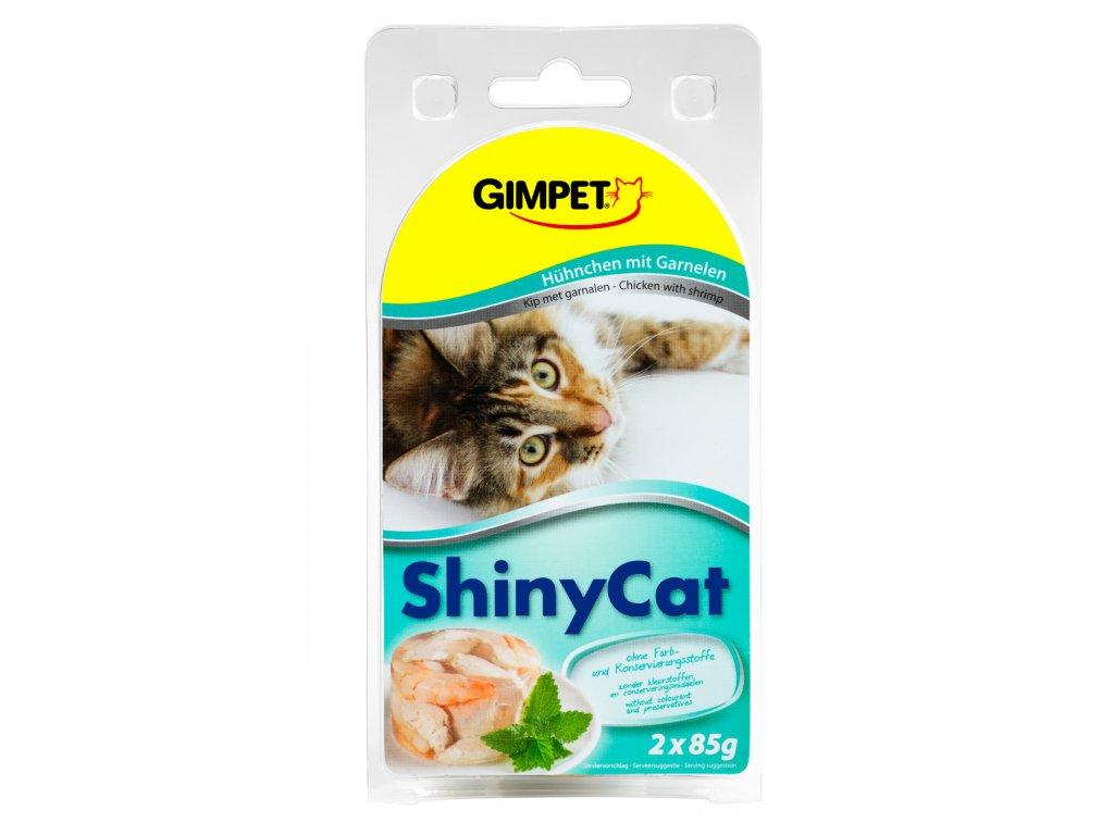 Konz.SHINY CAT kure+krevety 2x70g