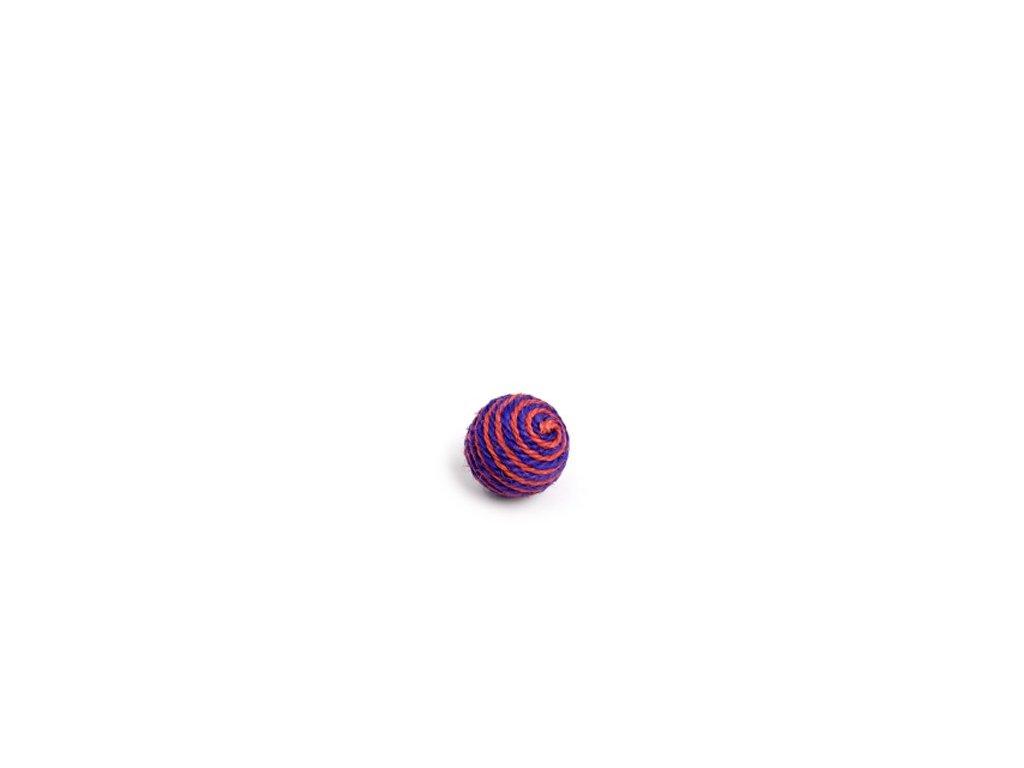 58656 jk animals hracka sisalova chrastici koule 6 cm 0