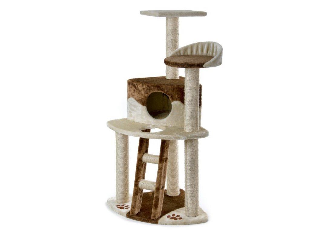 59728 1 jk animals skrabadlo pro kocky firenze 50 50 120 cm bezova hneda 1