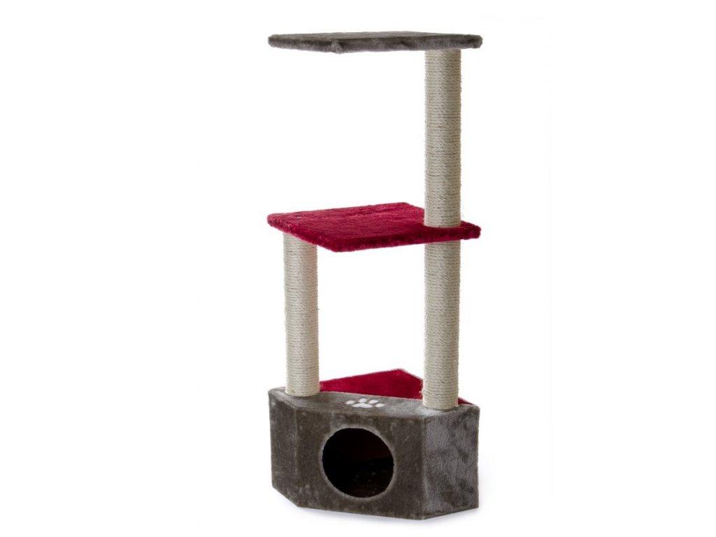 59727 2 jk animals skrabadlo pro kocky olivia 36 36 108 cm visen seda 1