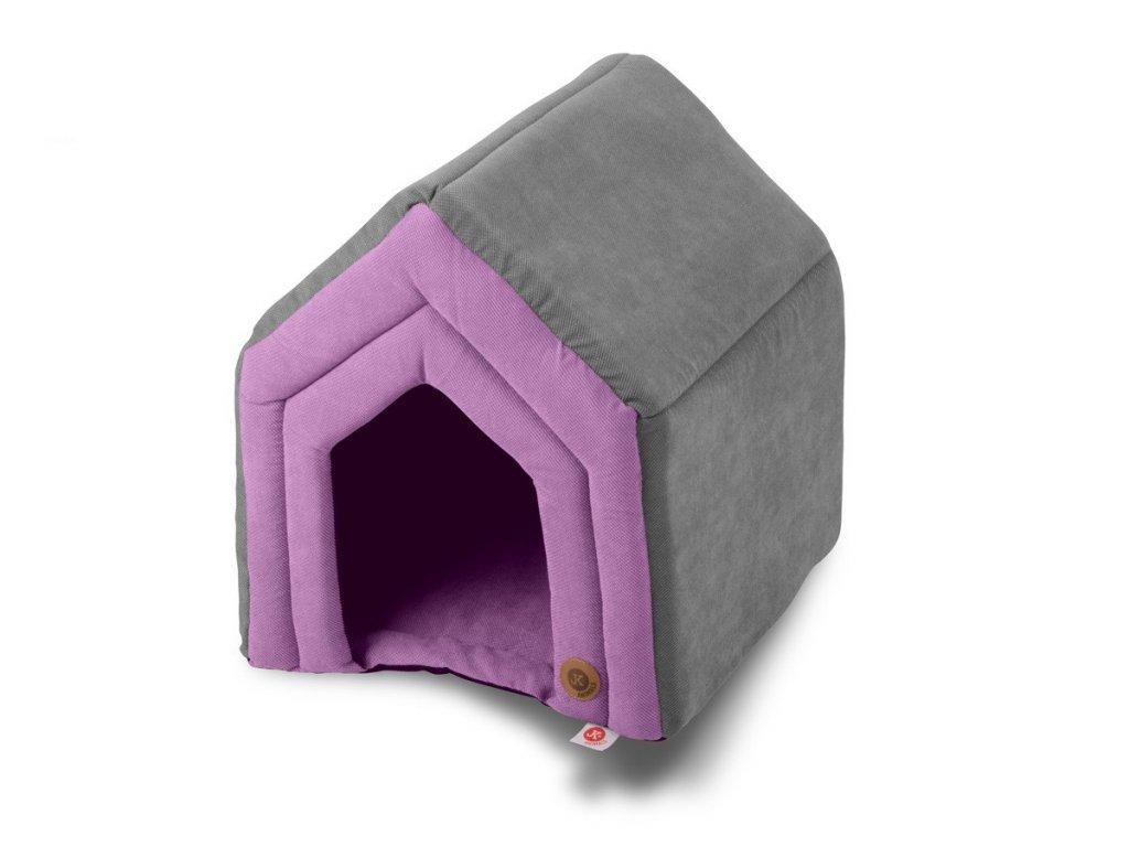 45872 5 jk animals pelech domek c 2 strong fialovy 45 40 47 cm 1