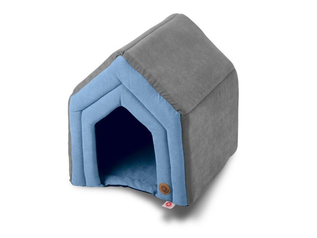 45872 6 jk animals pelech domek c 2 strong modry 45 40 47 cm 1