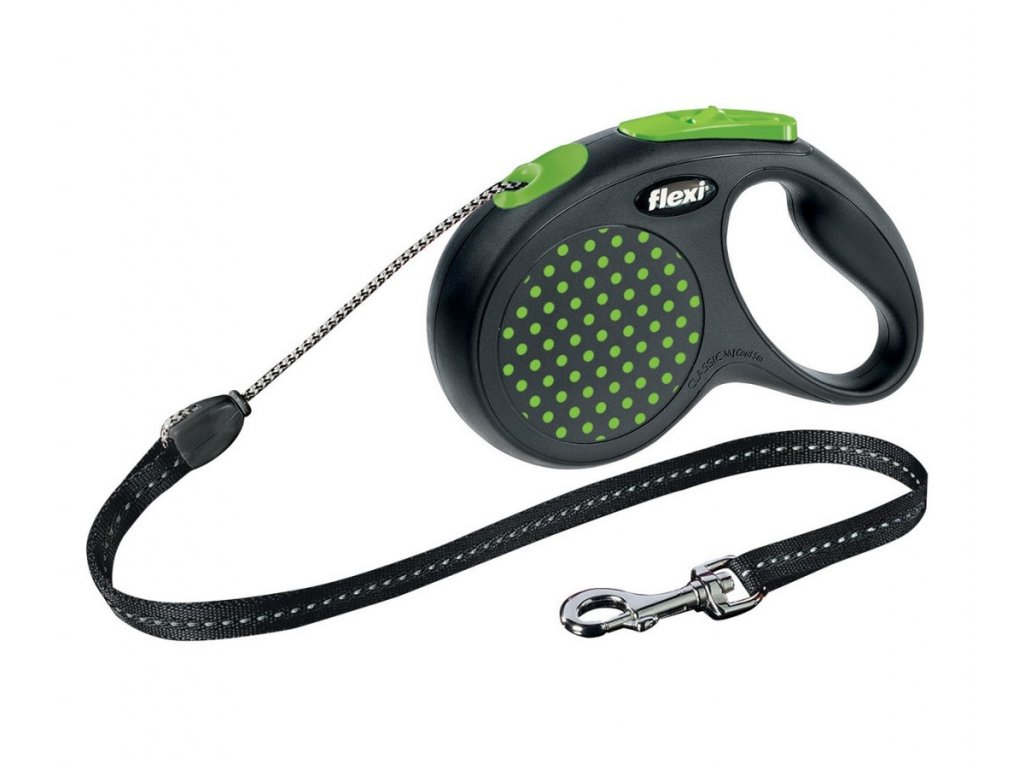 47767 4 flexi design lanko cord medium m 5 m 20 kg zelena 1