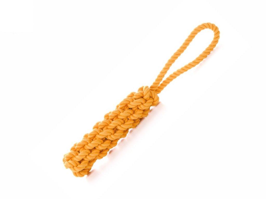45990 2 jk animals bavlnene pretahovadlo 40 cm oranzove 1