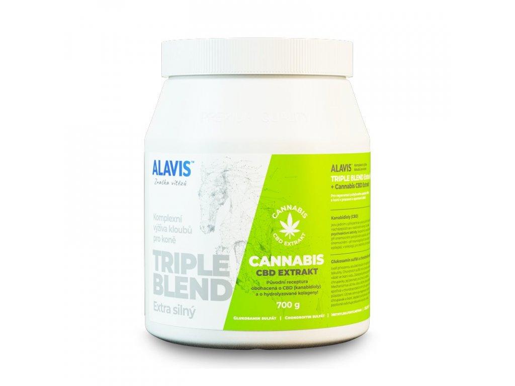 ALAVIS Triple Blend Extra silny Cannabis CBD Extrakt 700g 151020190936371569
