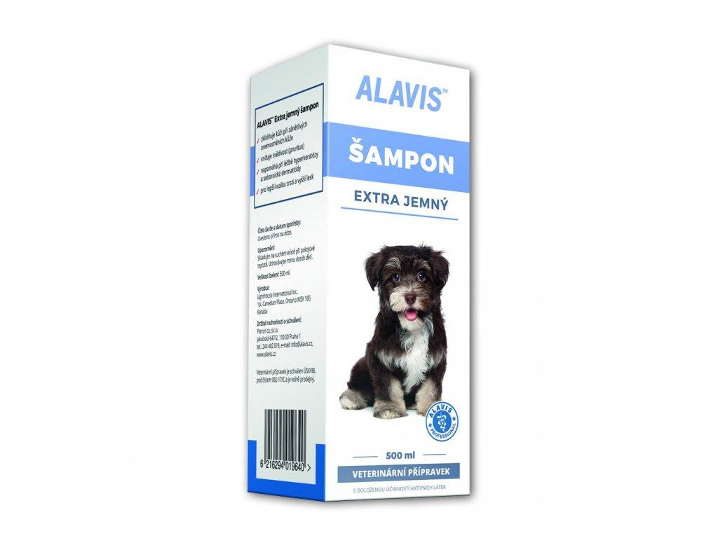 ALAVIS Extra jemný šampon
