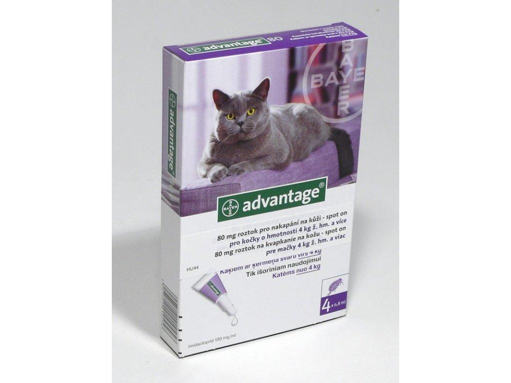 Advantage S.O.antip.kocka 4kg a vice fialovy