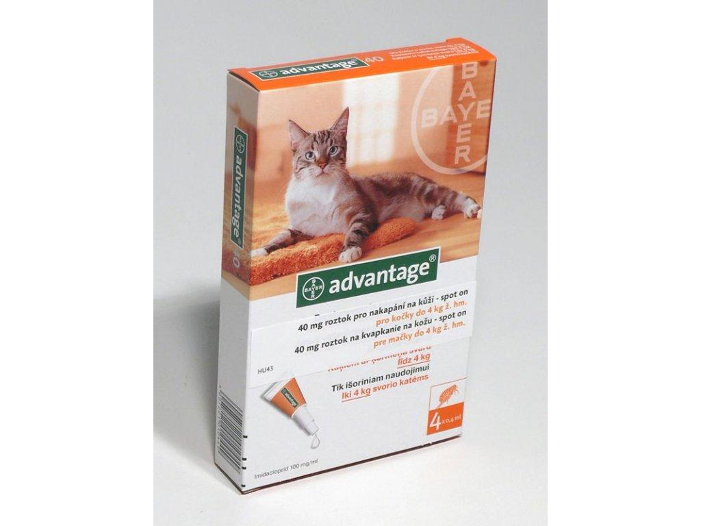 Advantage S.O.antip.kocka do 4kg oranzovy