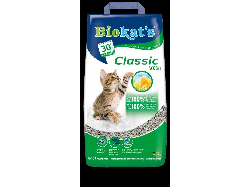 Podest.BIOKATS CLASSIC FRESH 10l