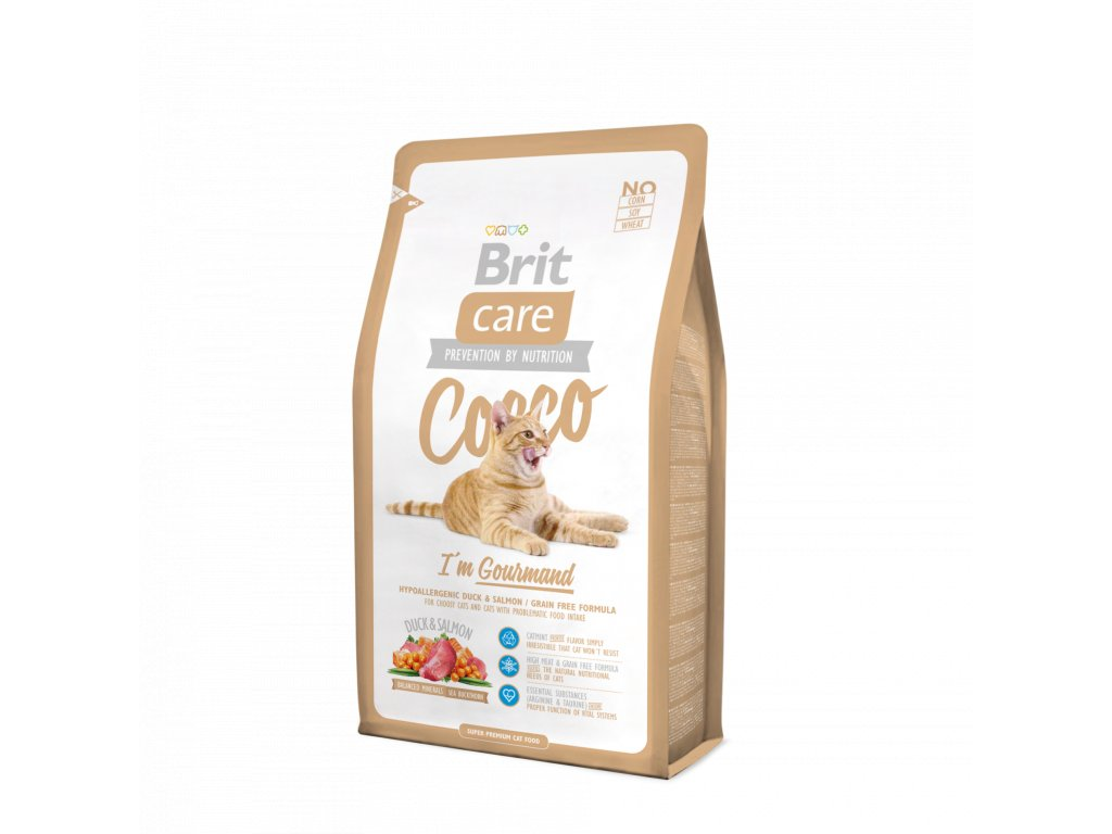 Brit Care Cat Cocco I´am Gourmand 7kg
