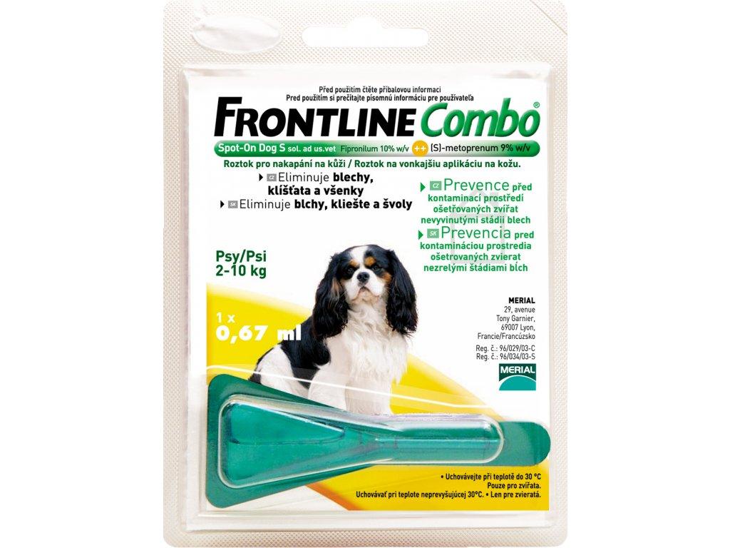 FRONTLINE antip.Combo Spot-on pes S 2-10kg