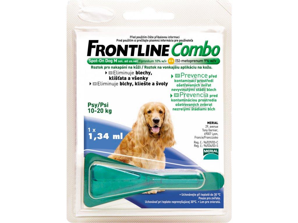 FRONTLINE antip.Combo Spot-on pes M 10-20kg