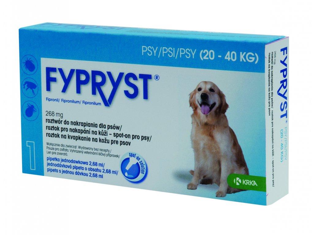 Fypryst antip.spot on a.u.v. L (pes 20-40kg)