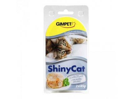 Konz.SHINY CAT tun+krevety 2x70g