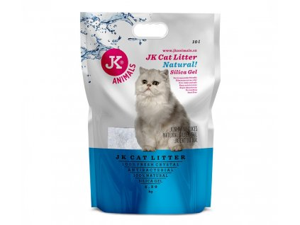 59142 1 jk animals cat litter natural silica gel 4 3 kg 10 l 1 w