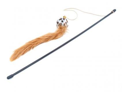 58758 jk animals hracka penovy micek na prute 47 cm 1