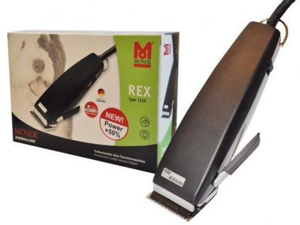 Strojek stříhací Moser Rex 1230