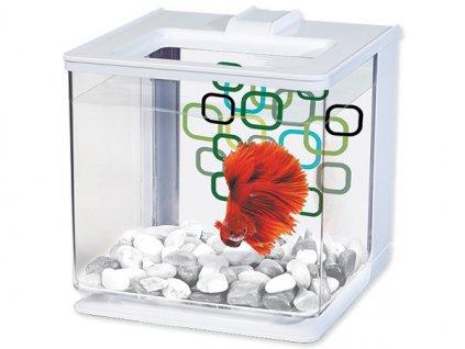 Akvárium MARINA Betta EZ Care Kit bílé (2,5l)