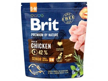 Brit Premium by Nature Senior S+M 1 kg