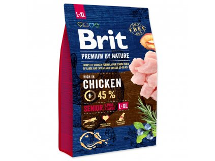 Brit Premium by Nature Senior L+XL 3 kg