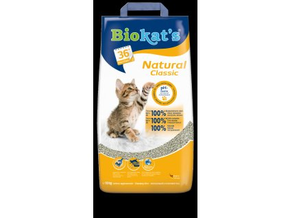 Podest.BIOKATS NATURAL Classic 10kg