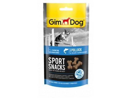 GIMDOG SportSnacks minikost losos 60g