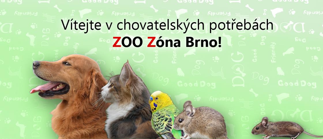 Vítejte v chovatelských potřebách ZOO Zóna Brno!